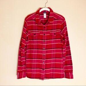 Patagonia Flannel Shirt   Organic Cotton